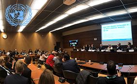 A la une FBN at United Nations